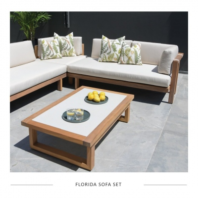 Featuring - The Florida Sofa Set