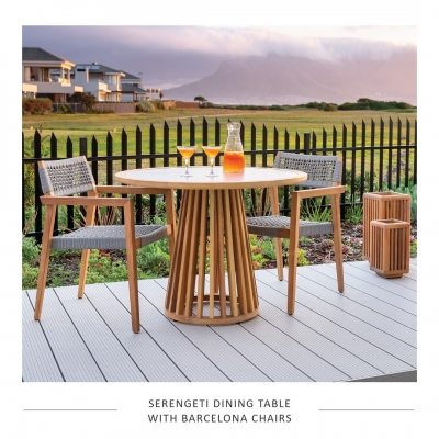 SERENGETI-DIN-TABLE-ROUND-BARCELONA-CHAIRS
