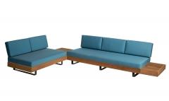 Sofa Set w. Side Table