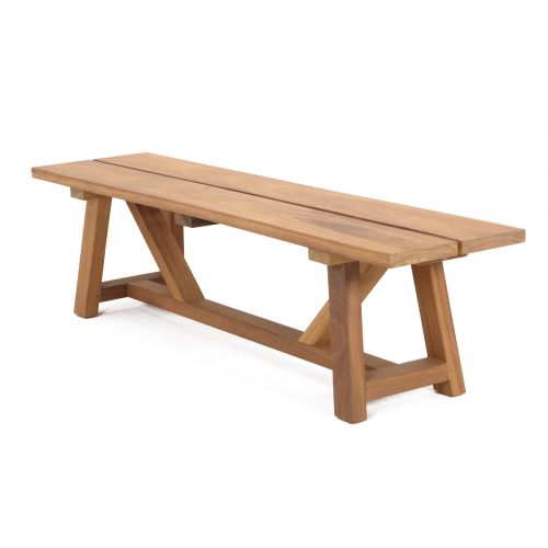 Manhattan Timber Bench