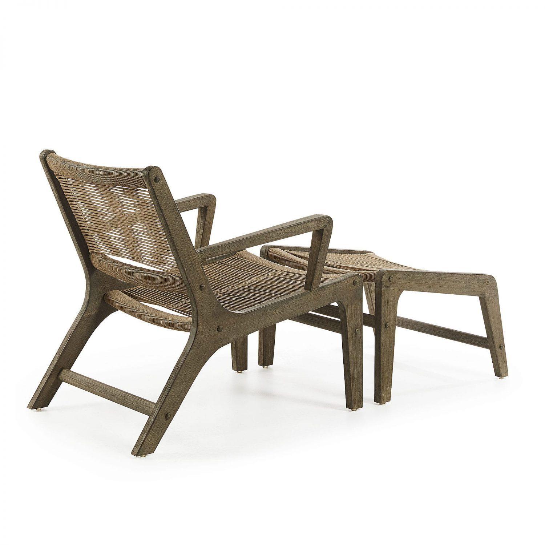 Basso Armchair & Footstool