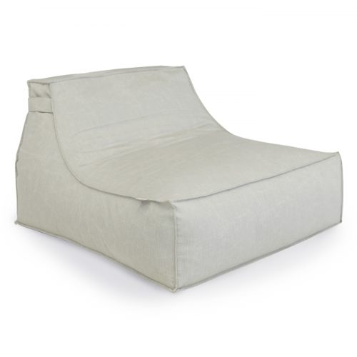 Oasis Bean Bag Large Light Grey
