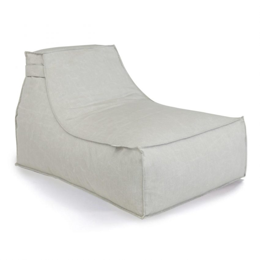 Oasis Bean Bag Small Light Grey
