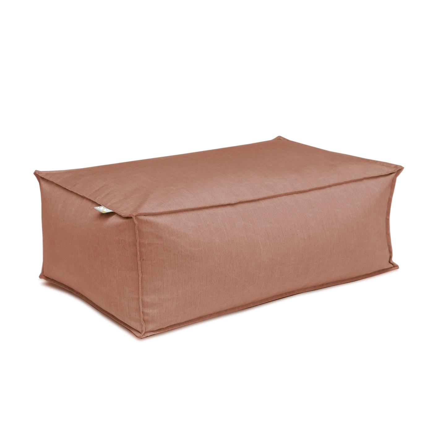 Oasis Bean Bag Ottoman Small Ruby