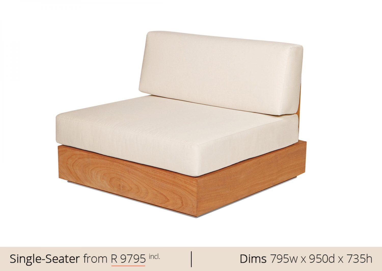 Platform Sofa Single