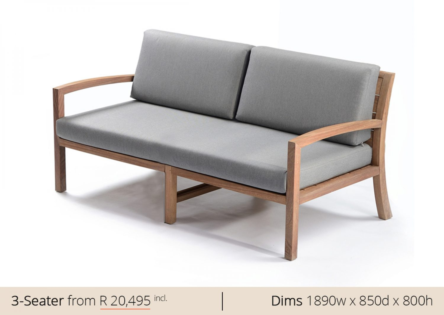 Nautical 3 Seater Couch Sofa