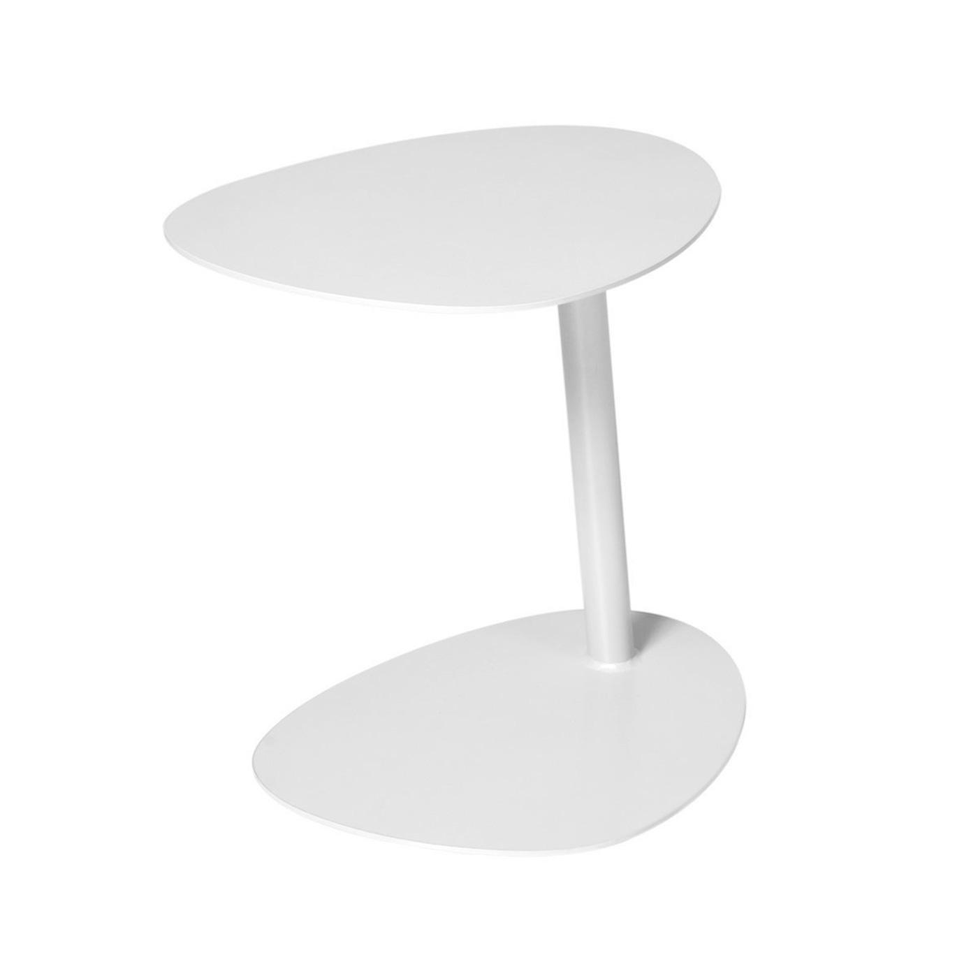 Pebble Side Table White
