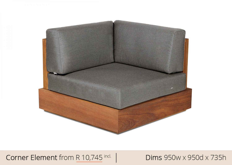 Platform Corner Sofa Couch