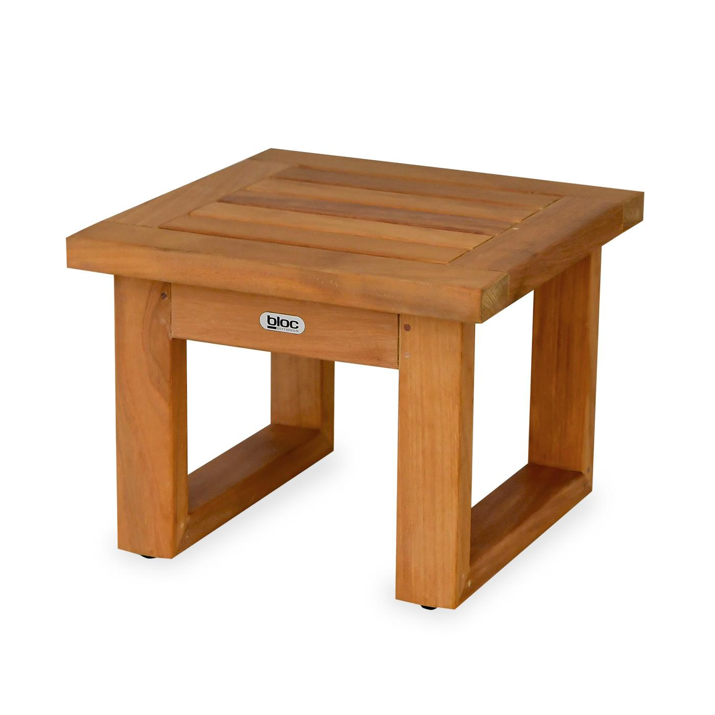 Florida Side Table Timber Top