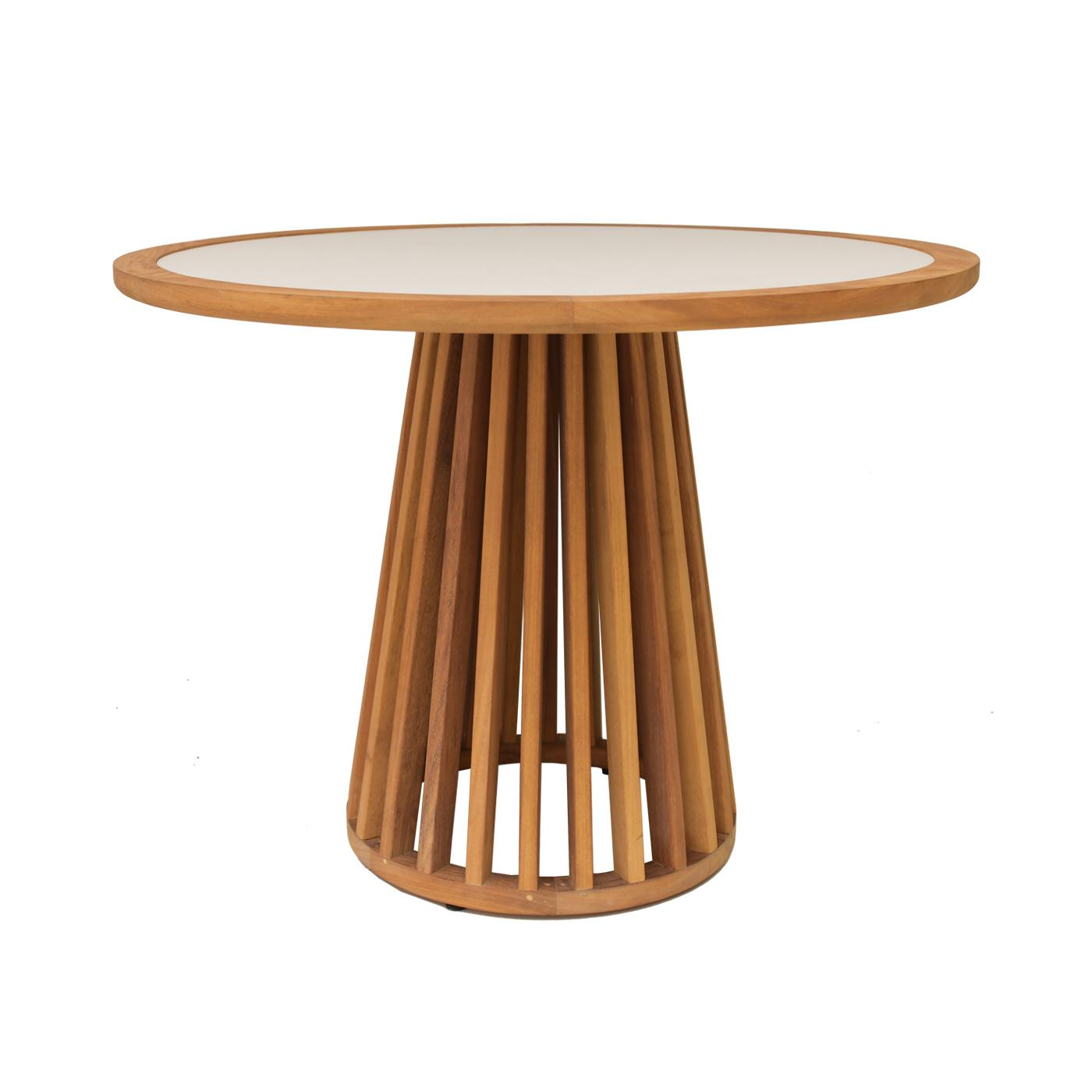 Serengeti Round Porcelain Top Dining Table