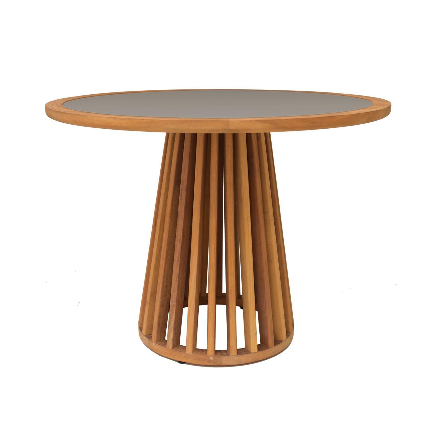 Serengeti Round Dining Table Grey